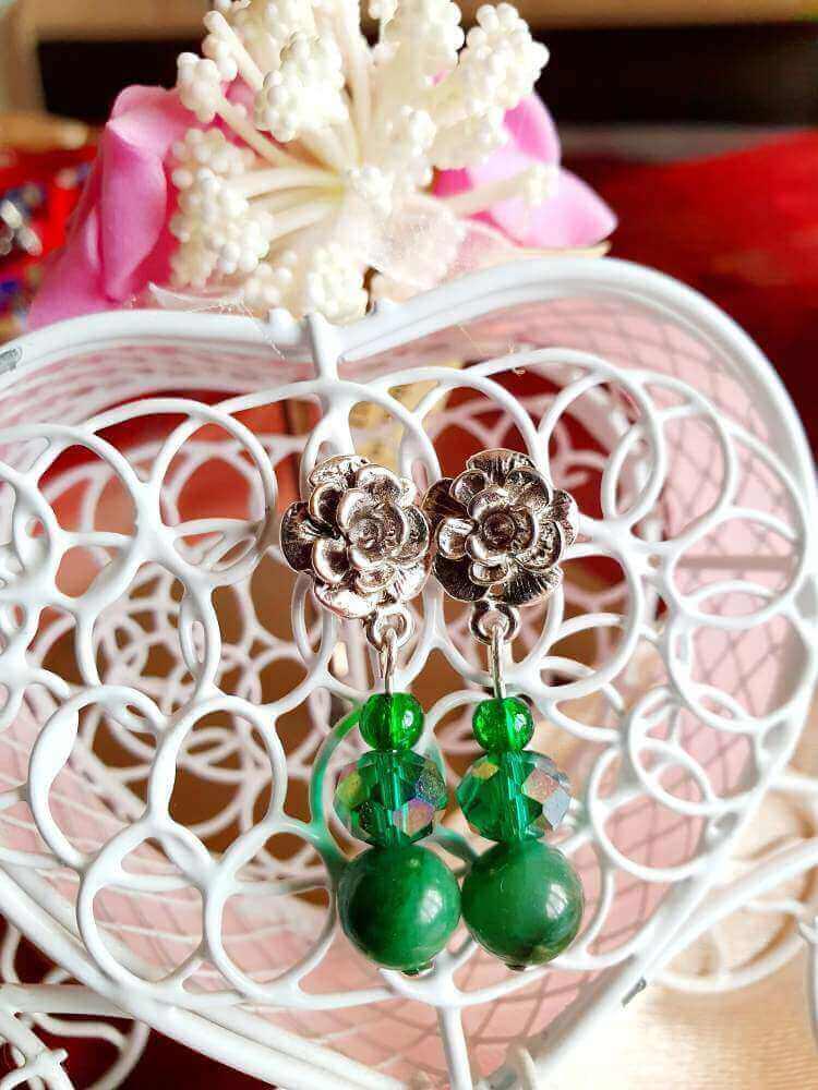 Cercei Handmade Green Forest