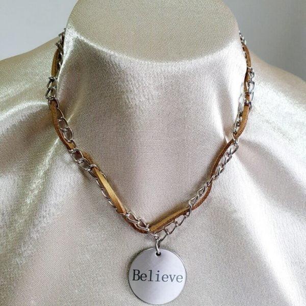 Colier Handmade Believe