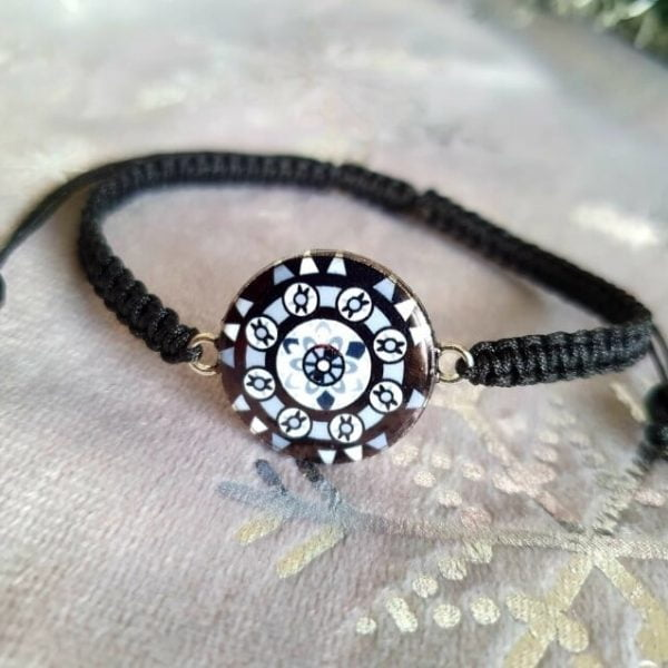 Bratara Handmade Etno Black