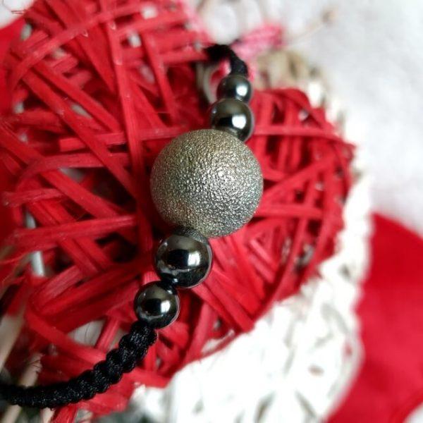 Bratara Handmade Silver Globe