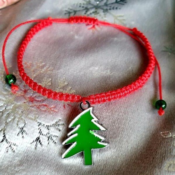 Bratara Handmade Christmas Tree