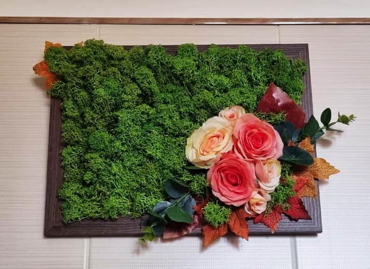 Tablou cu licheni - Natura